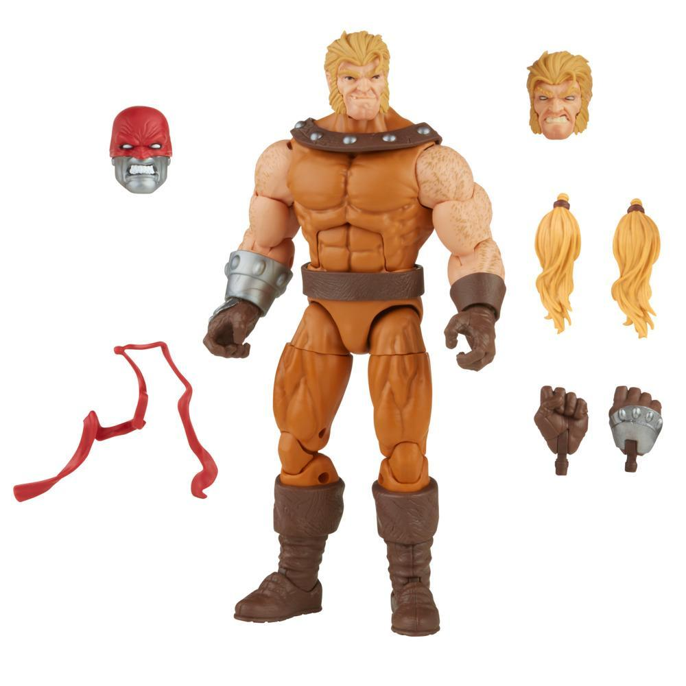 Hasbro Marvel Legends Series 6-inch Scale Action Figure Toy Sabretooth, Includes Premium Design, 3 Accessories, and 1 Build-A-Figure Part