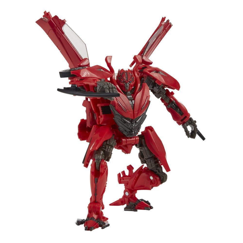 Transformers Toys Studio Series 71 Deluxe Transformers: Dark of the Moon Autobot Dino Action Figure, 8 and Up, 4.5-inch