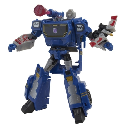 Transformers Bumblebee Cyberverse Adventures Toys Deluxe Class Soundwave Action Figure, Sound Blast Action Attack, 5-inch Product