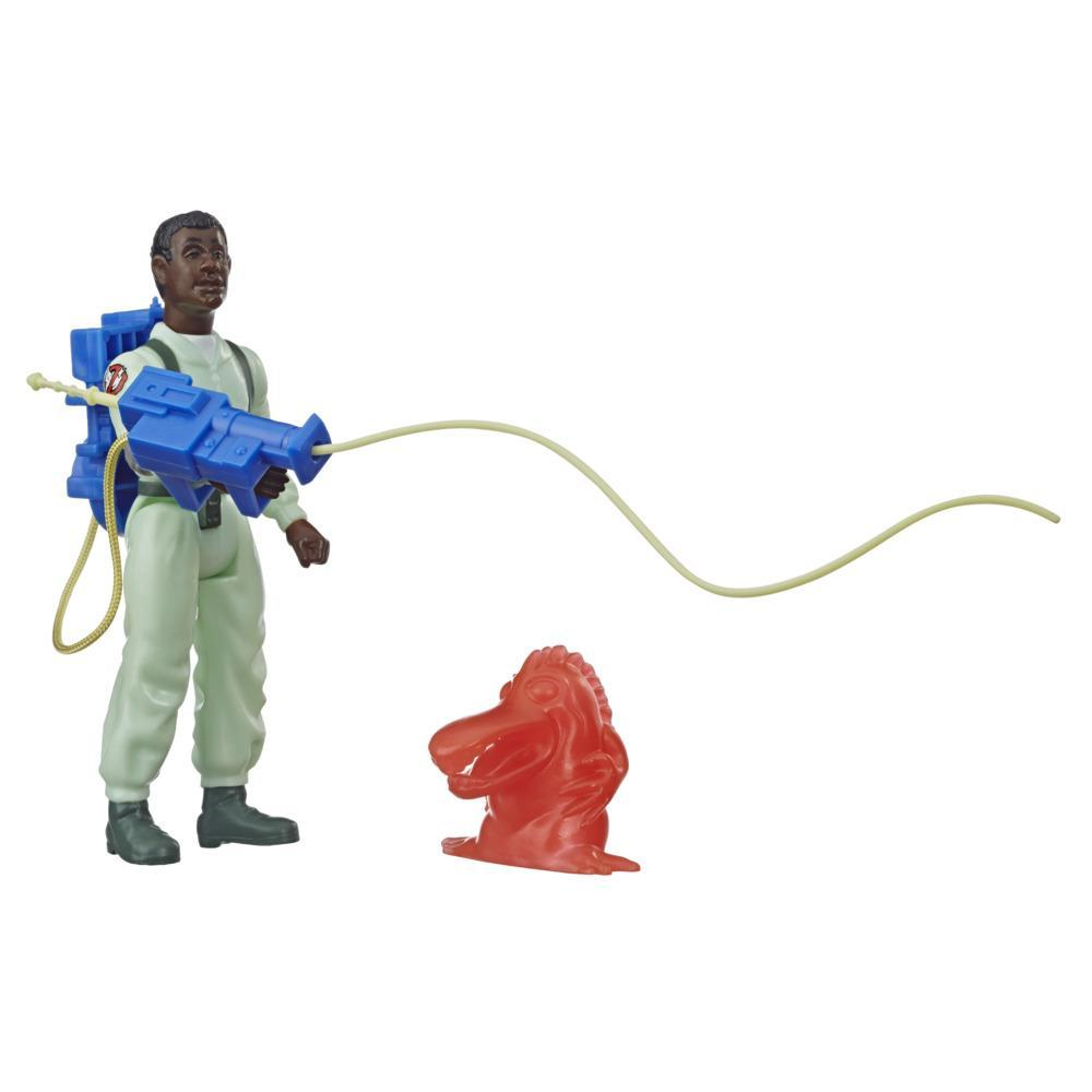 Ghostbusters Kenner Classics Winston Zeddemore and Chomper Ghost Retro Action Figures with Proton Pack and Accessories
