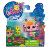 LITTLEST PET SHOP Fairies GLISTENING GARDEN Pansy Fairy Set