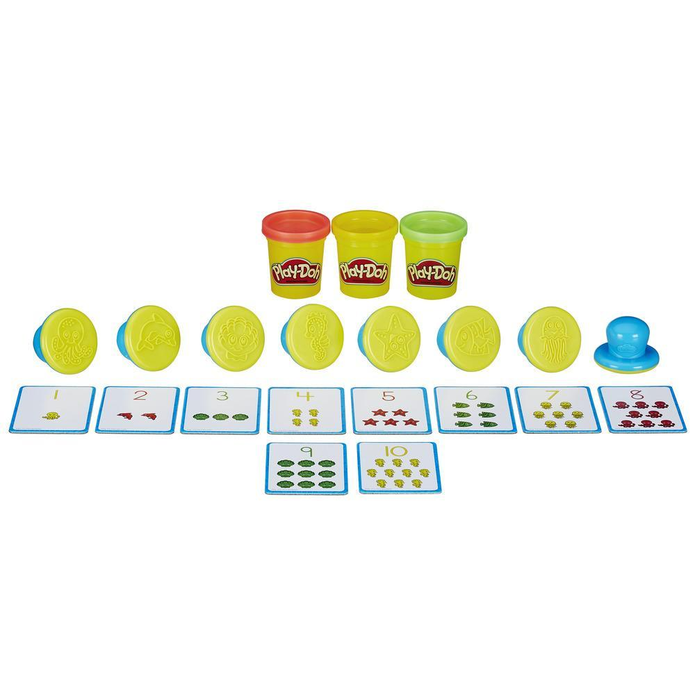 Play-Doh Shape and Learn Numbers and Counting