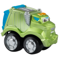 TONKA CHUCK & FRIENDS ROWDY THE GARBAGE TRUCK Die Cast Metal Truck