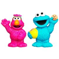 SESAME STREET PLAYSKOOL Cookie Monster & Telly Figures