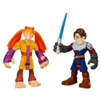 STAR WARS Jedi Force PLAYSKOOL HEROES ANAKIN SKYWALKER & JAR JAR