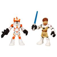 STAR WARS Jedi Force PLAYSKOOL HEROES OBI-WAN KENOBI & COMMANDER CODY