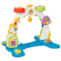 PLAYSKOOL ROCKTIVITY SIT, CRAWL 'N STAND BAND