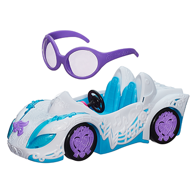 My Little Pony Equestria Girls Rainbow Rocks DJ PON-3 Rockin' Convertible Vehicle