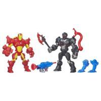 Marvel Super Hero Mashers Iron Man Vs. Ultron Figure Pack