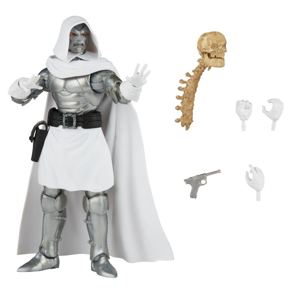 Hasbro Marvel Legends Series 6-inch Collectible Action Dr. Doom Figure and 4 Accessories