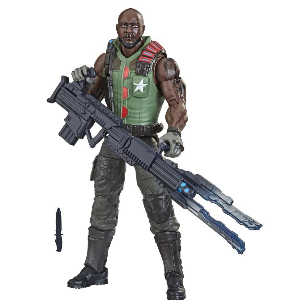 G.I. Joe Classified Series Series Roadblock Filed Variant Action Figure 01 Collectible Toy with Custom Package Art