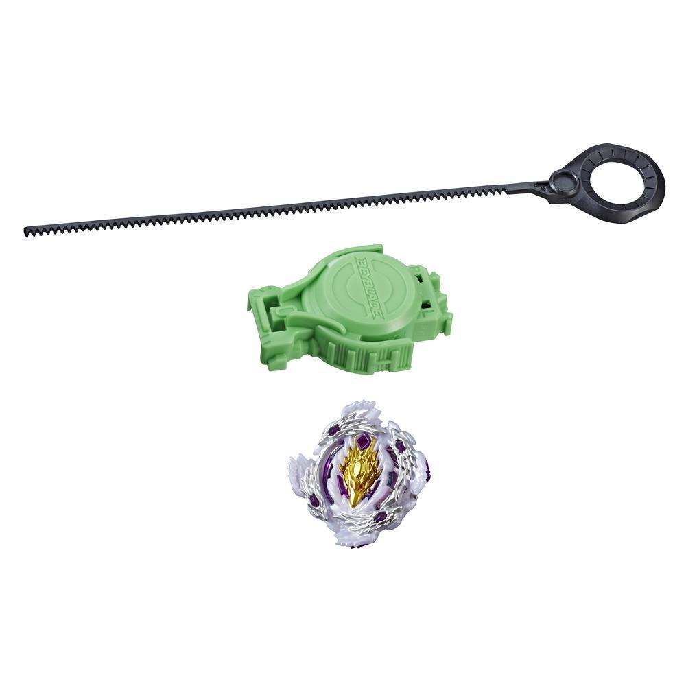 Beyblade Burst Turbo Slingshock Starter Pack Luinor L4 Top and Launcher