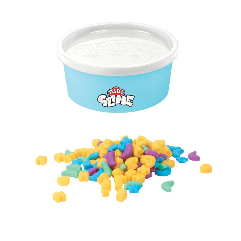 Play-Doh Slime Magic Puffs Cereal Themed Slime Compound, 4.5-ounce Can with Plastic Cereal Bits, Non-Toxic