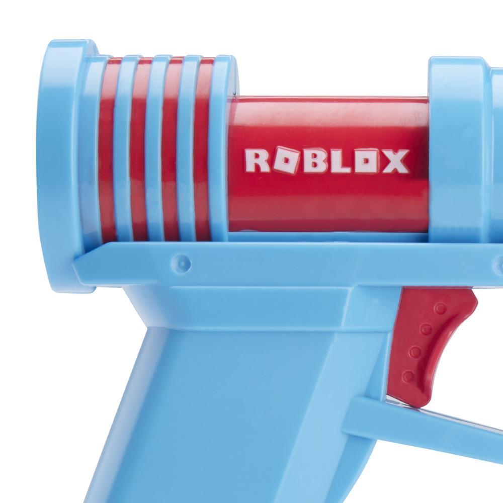 Nerf Roblox Phantom Forces: Boxy Buster Dart Blaster, 2 Nerf Elite Darts, Code To Unlock In-Game Virtual Item