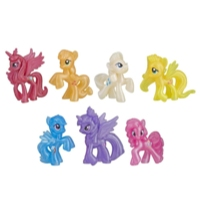 My Little Pony Shimmering Friends 7 Figure Collection – Toys for Kids Ages 3 Years Old and Up
