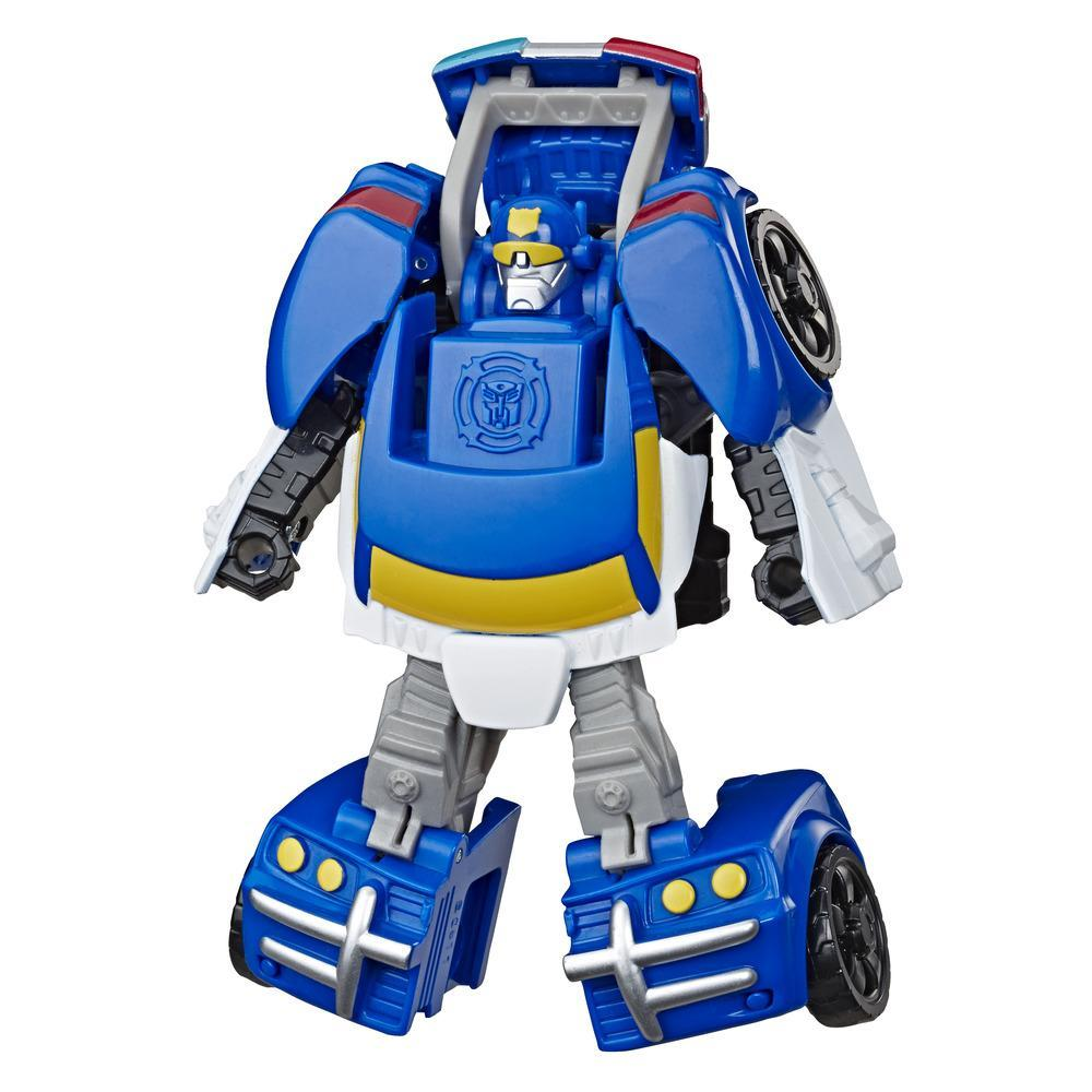 Playskool Heroes Transformers Rescue Bots Academy Chase the Police-Bot