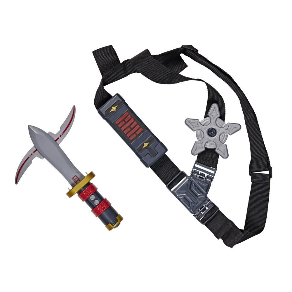 Snake Eyes: G.I. Joe Origins Ninja Strike Gear Ninja Strike Weapon Sash with Snap Attack, Roleplay Toy for Ages 5 and Up