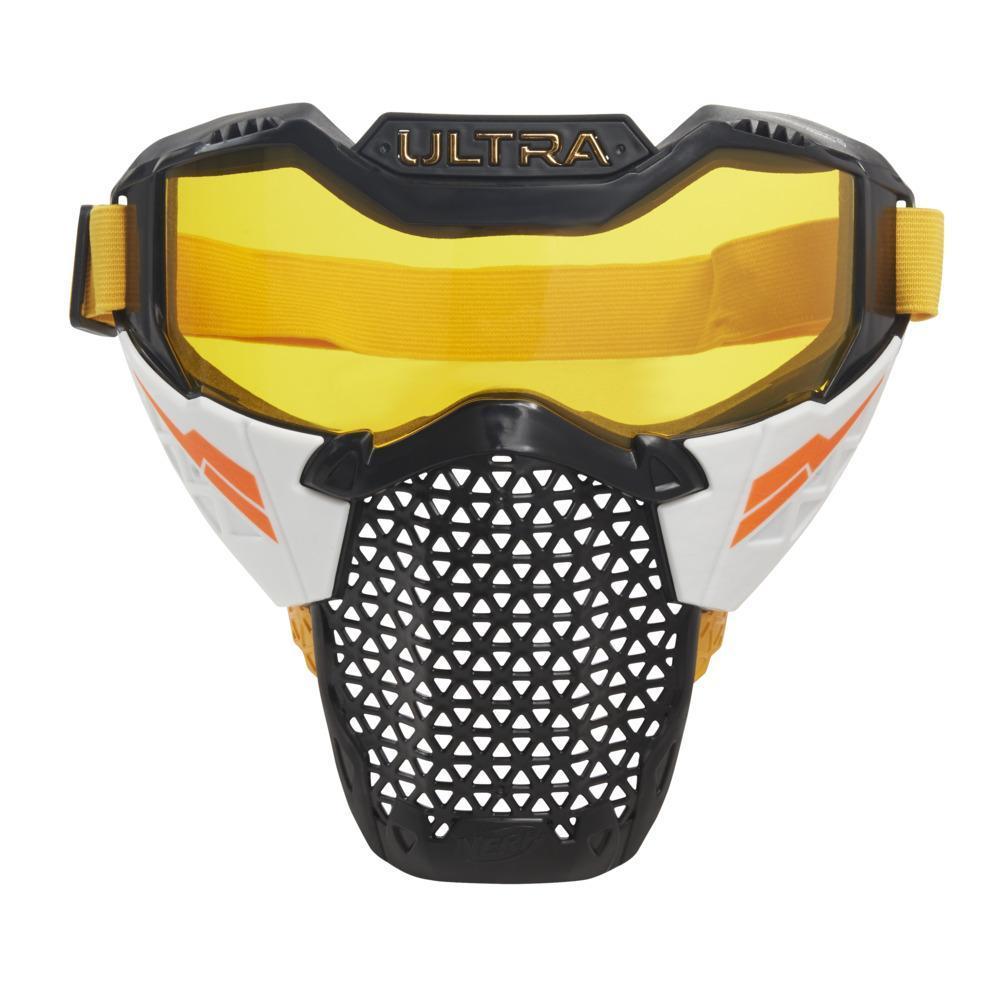 Nerf Ultra Battle Mask -- Adjustable Head Strap, Breathable Design -- Wearable Face Shield For Nerf Ultra Battlers