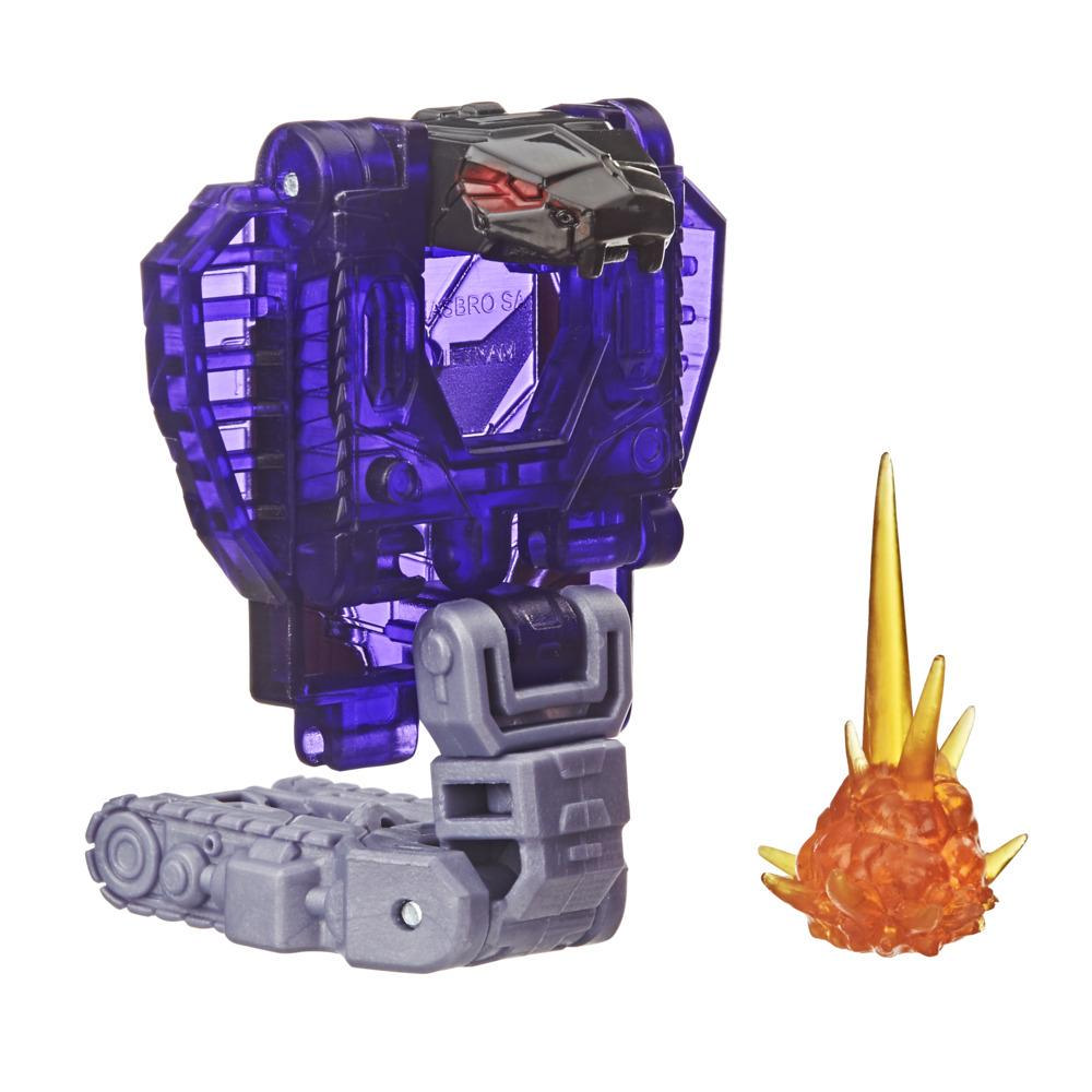 Transformers Toys Generations War for Cybertron: Earthrise Battle Masters WFC-E13 Slitherfang Figure, 8 and up, 1.5-inch