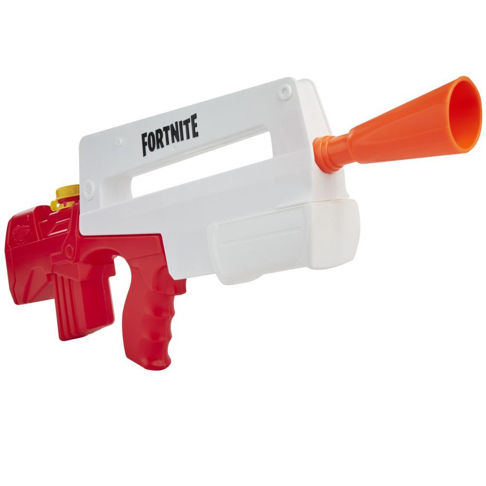 Nerf Super Soaker Fortnite Burst AR Water Blaster, Pump-Action Soakage, Outdoor Summer Games For Youth, Teens, Adults