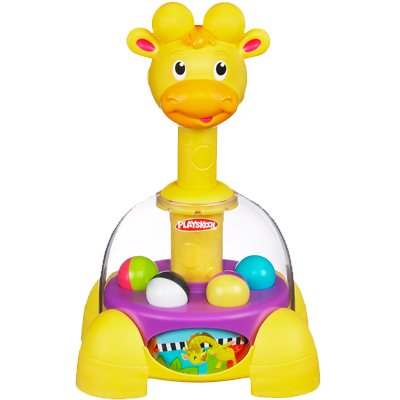 PLAYSKOOL POPPIN' PARK GIRAFFALAFF TUMBLE TOP Toy