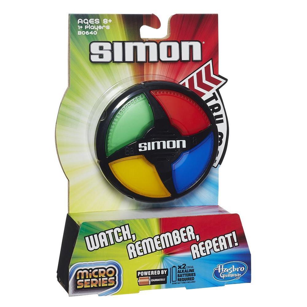 Simon Micro Series Hasbro : King Jouet, Jeux de réflexion Hasbro  Jeux de