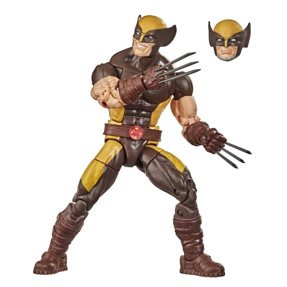 Hasbro Marvel Legends Series X-Men 6-inch Collectible Wolverine Action Figure Toy And Accessory, Ages 4 And Up