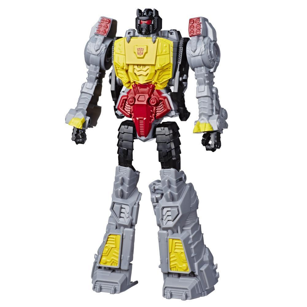 Transformers Toys Titan Changers Grimlock Action Figure - For Kids Ages 6 and Up, 11-inch