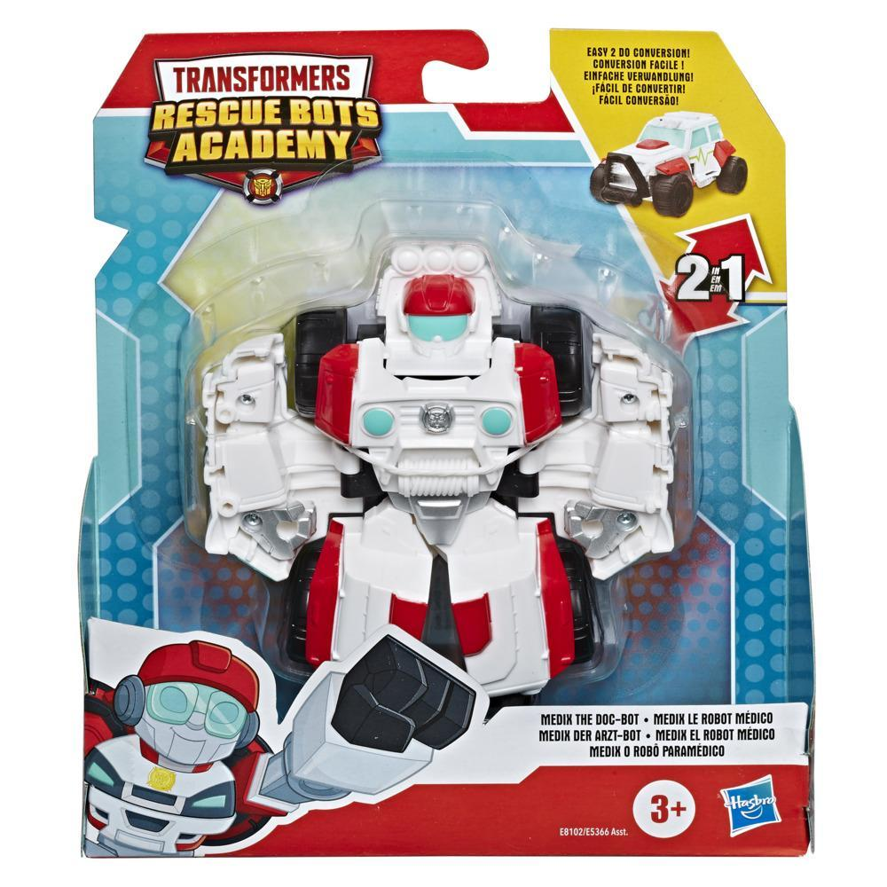 Transformers Rescue Bots Academy Medix the Doc-Bot Converting Toy, 4.5-Inch Figure, Toys for Kids Ages 3 and Up