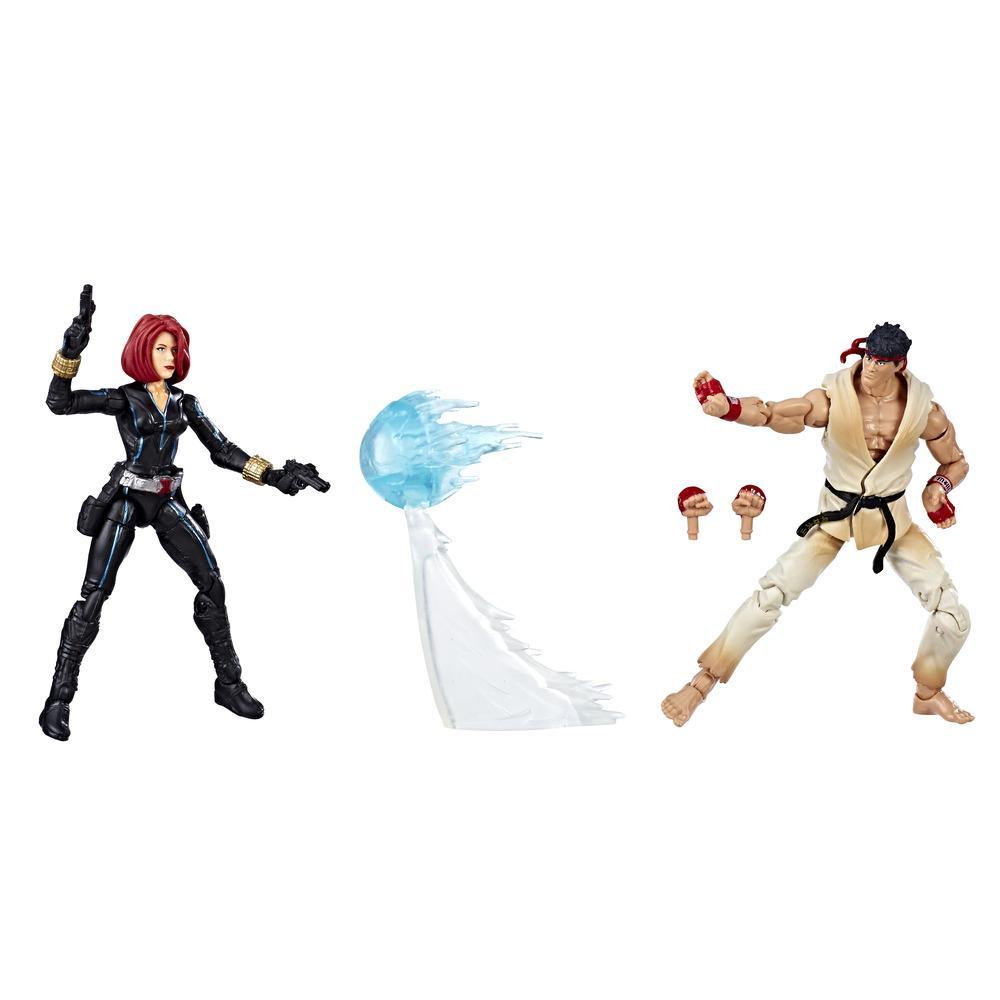 Marvel Gamerverse Marvel vs. Capcom Black Widow vs. Ryu 2-pack