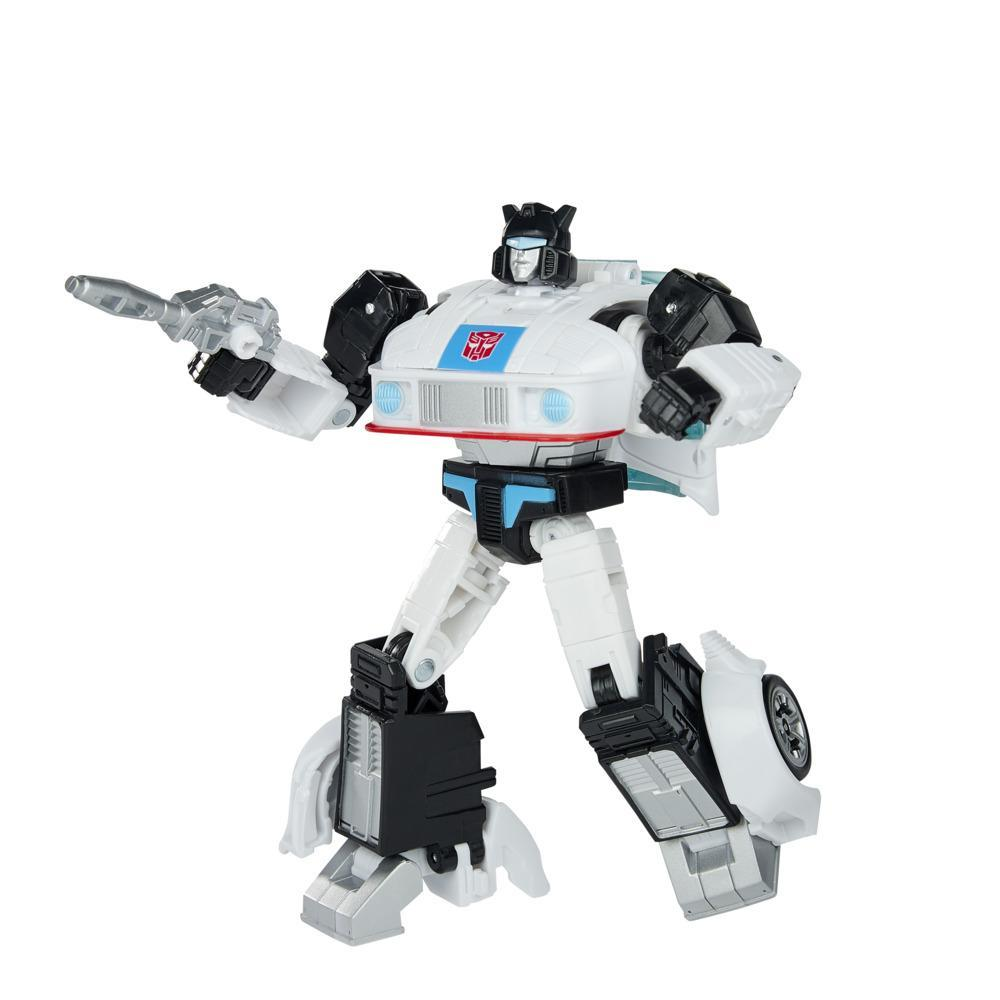 Transformers Toys Studio Series 86-01 Deluxe The Transformers: The Movie Autobot Jazz Action Figure, 8 and Up, 4.5-inch