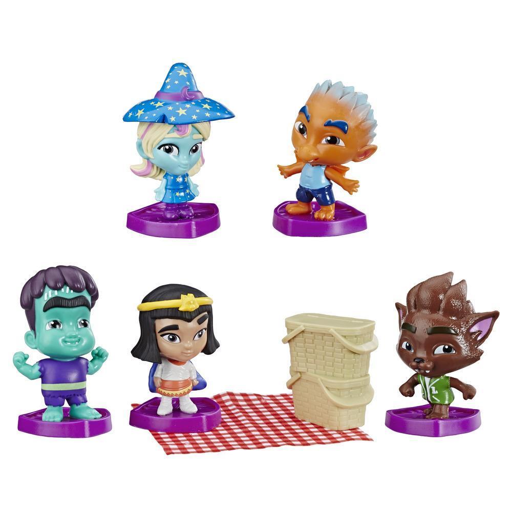 Netflix Super Monsters Collectible 3-Inch 5-Figure Set