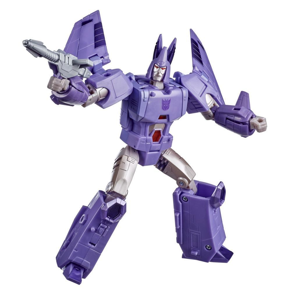 Transformers Toys Generations War for Cybertron: Kingdom Voyager WFC-K9 Cyclonus Action Figure - 8 and Up, 7-inch