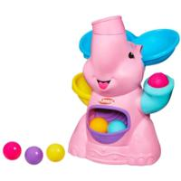 PLAYSKOOL POPPIN' PARK Pink Elephant Busy Ball Popper