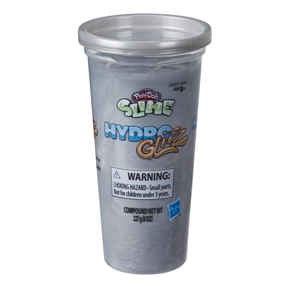 Play-Doh Slime HydroGlitz Silver-Colored Liquid Metal-Looking Slime Compound (8 Ounces)