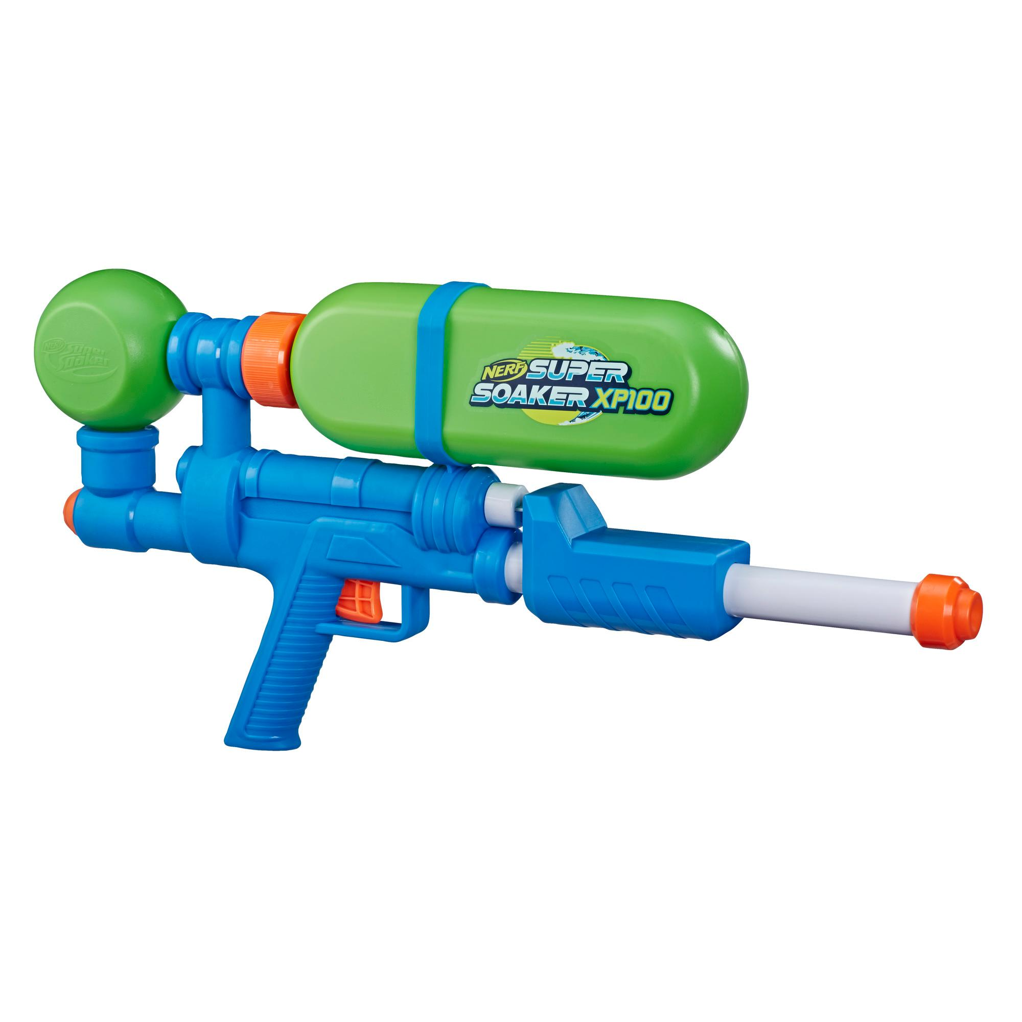 Nerf Super Soaker XP100 Water Blaster -- Air-Pressurized Continuous Blast -- Removable Tank -- For Kids, Teens, Adults