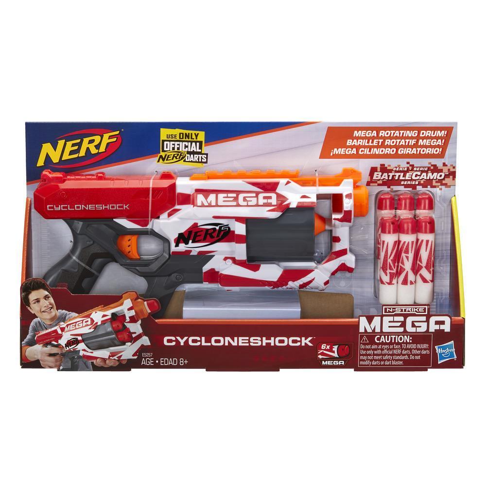 CycloneShock Nerf Mega Toy Blaster BattleCamo Series