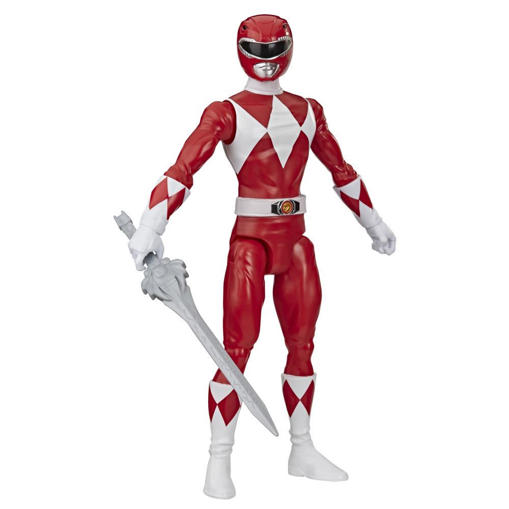 Power Rangers Mighty Morphin Red Ranger 12-Inch Action Figure Toy Inspired by Classic Power Rangers TV Show
