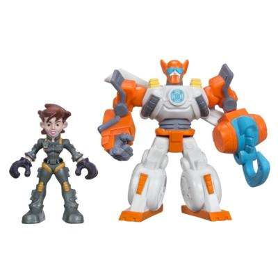 Playskool Heroes Transformers Rescue Bots Blades The Copter-Bot & Dani Burns