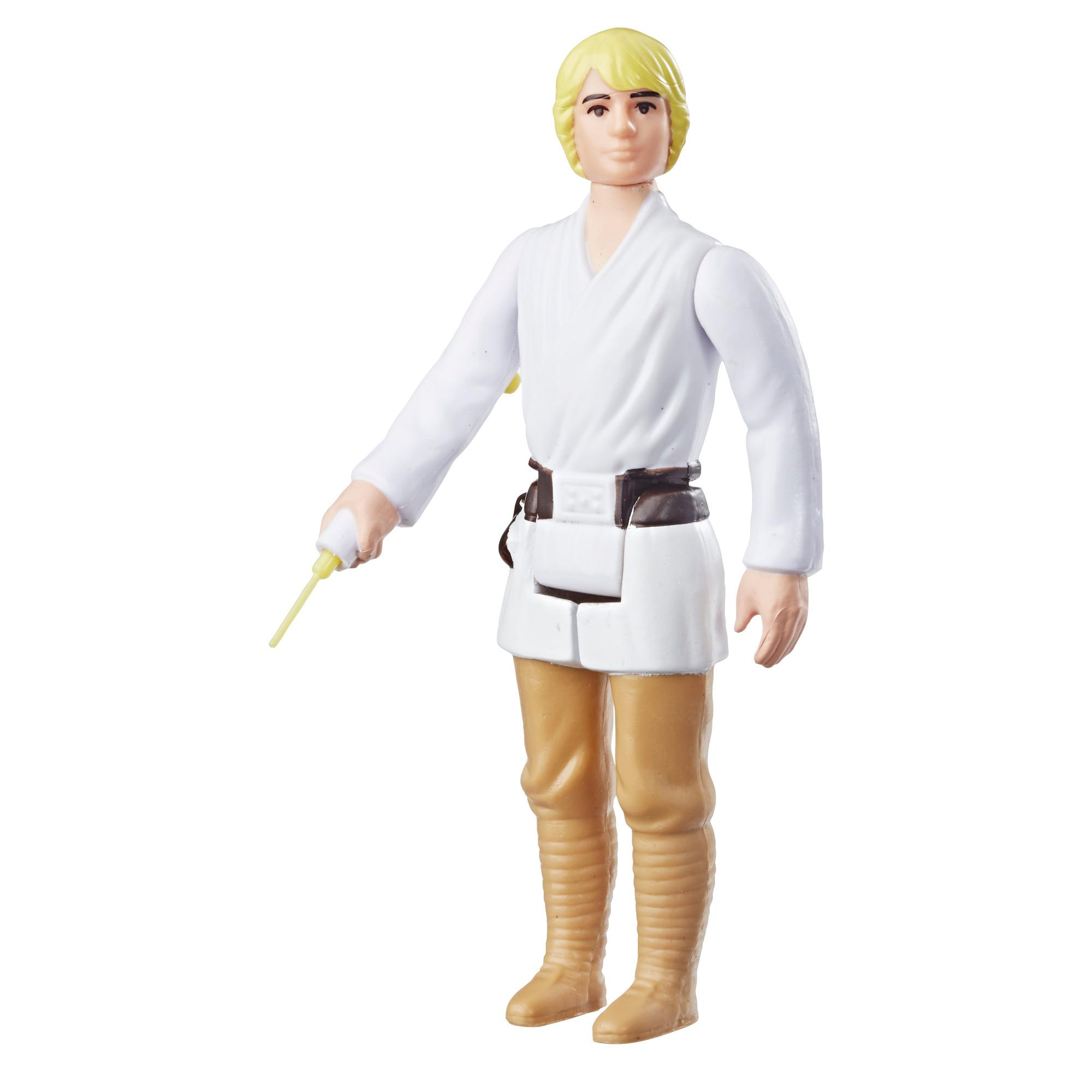 Star Wars Retro Collection Episode IV: A New Hope Luke Skywalker 3.75-Inch-Scale Action Figure Toy – Inspired by Classic 1970s-Sculpt and Packaging Collectible Star Wars Figure