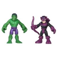 Playskool Heroes Marvel Super Hero Adventures Hulk and Marvel's Hawkeye
