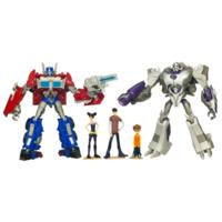 TRANSFORMERS PRIME - Entertainment Pack - First Edition OPTIMUS PRIME Vs. MEGATRON with DVD - English Edition