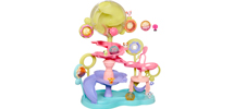LITTLEST PET SHOP TEENSIES LPS TEENSIE TWIRL WORLD Playset