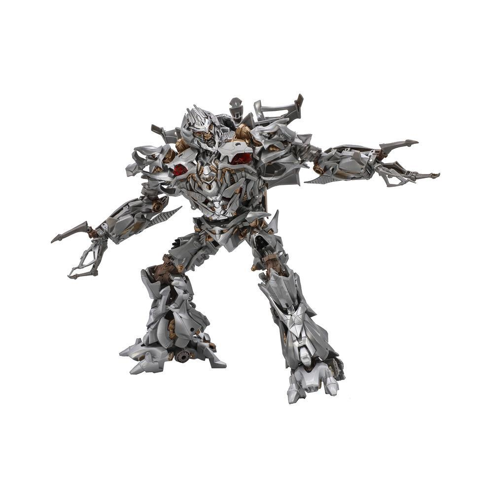 Transformers Masterpiece Movie Series Megatron MPM-8 [OFFICIAL Hasbro and Takara Tomy], Collector Figure, 12-inch scale