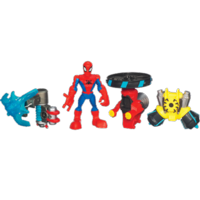 MARVEL Spider-Man Adventures PLAYSKOOL HEROES XL ACTION GEAR SPIDER-MAN Set