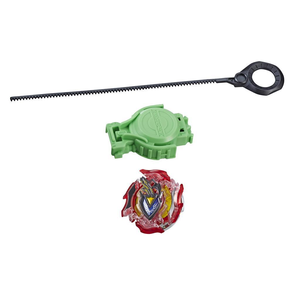 Beyblade Burst Slingshock Rip Fire Starter Pack Z Achilles A4: Battling Light-Up Top with Right/Left-Spin Launcher, Age 8+