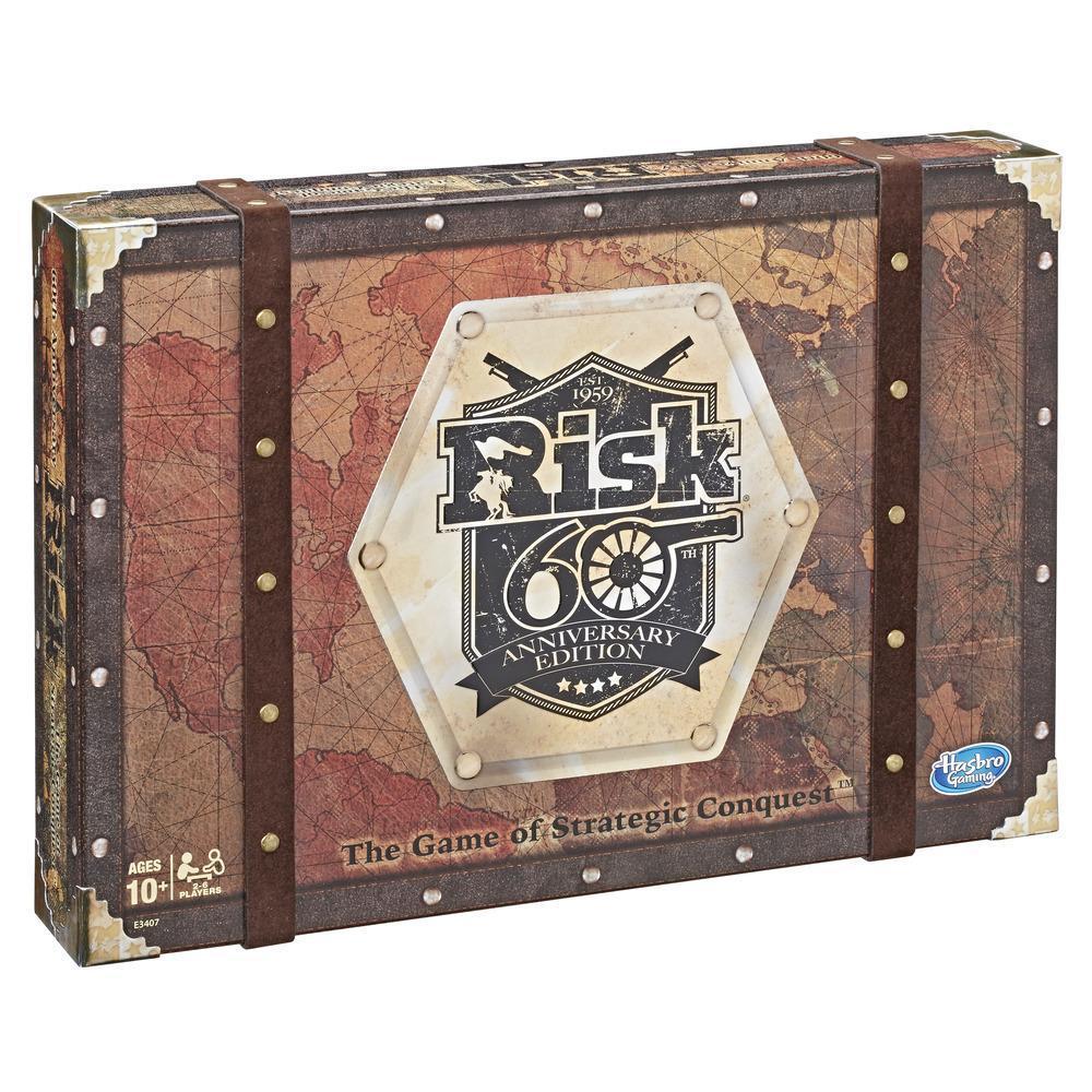 Risk 60th Anniversary Edition Family Board Game