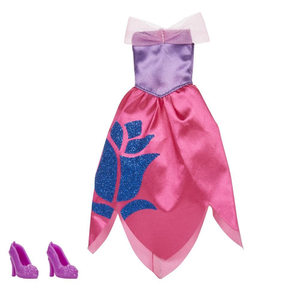 Disney Princess Be Bright Be Bold Aurora Fashion Pack, Red Dress with Shoes for Disney Princess Fashion Doll Toy