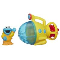 Playskool Sesame Street Cookie Monster Bath Submarine Toy