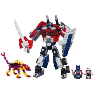 KRE-O TRANSFORMERS BEAST HUNTERS BEAST BLADE OPTIMUS PRIME Set
